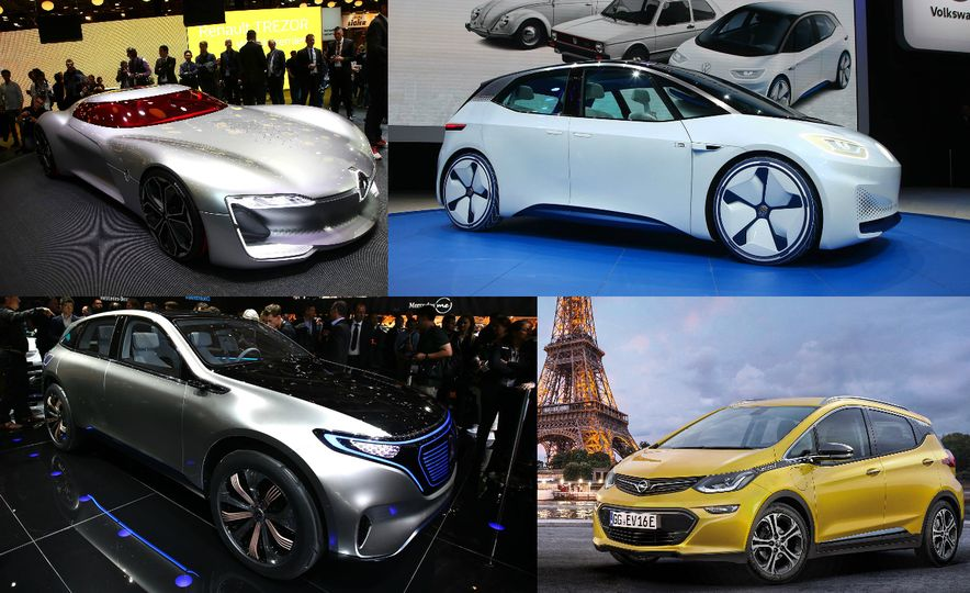 Vehicules Electriques: The EVs of the 2016 Paris Auto Show - Slide 1