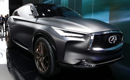 Infiniti Shows Trick New Engine and Updated QX Inspiration Concept