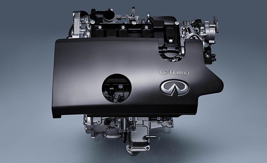 Infiniti VC-T engine cutaway - Slide 1