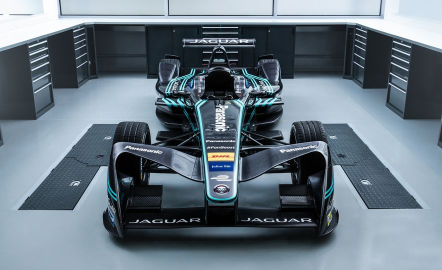 Jaguar I-type Formula E race car - Slide 7