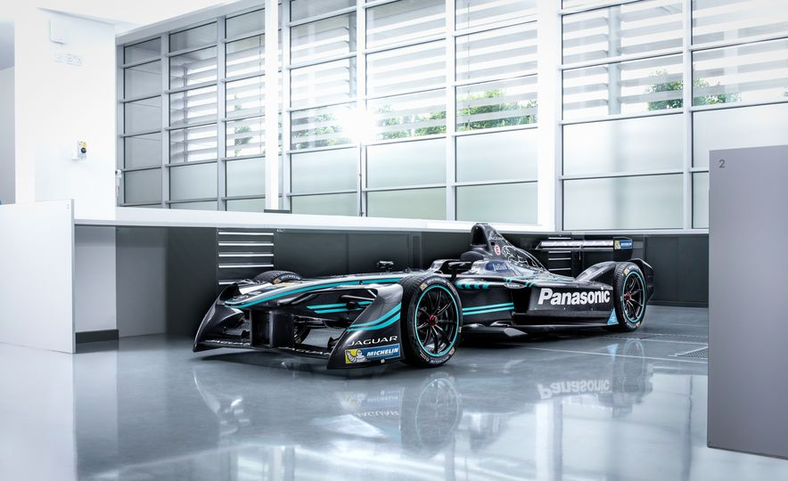 Jaguar I-type Formula E race car - Slide 9