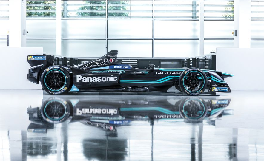 Jaguar I-type Formula E race car - Slide 12