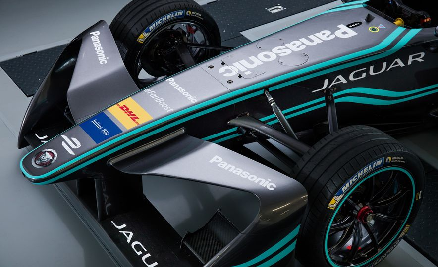 Jaguar I-type Formula E race car - Slide 13