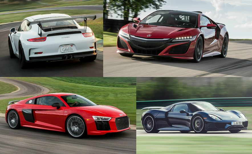 The Supercars of Lightning Lap: Every Car, Every Lap Time from 10 Years at VIR - Slide 1