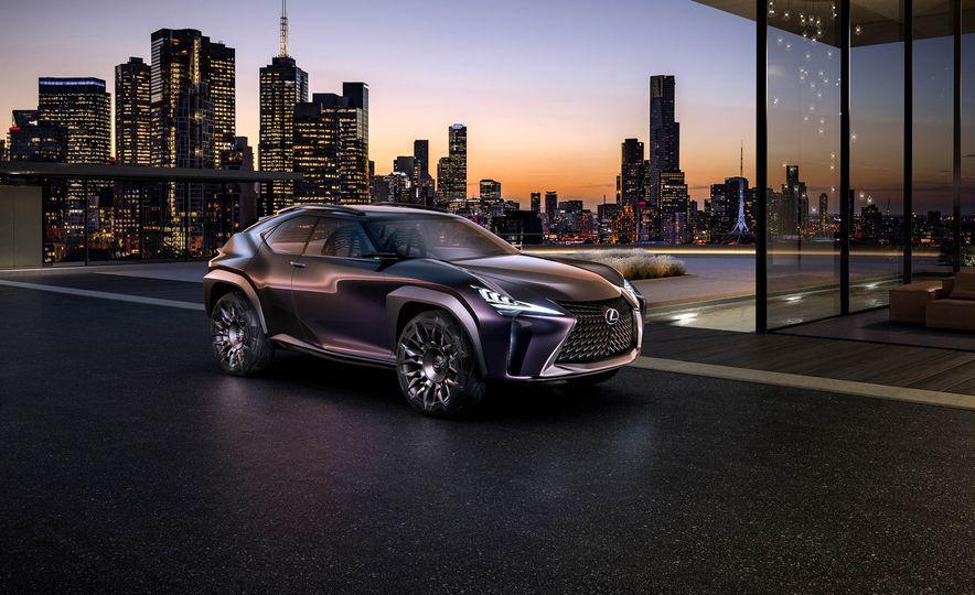Lexus UX concept - Slide 1