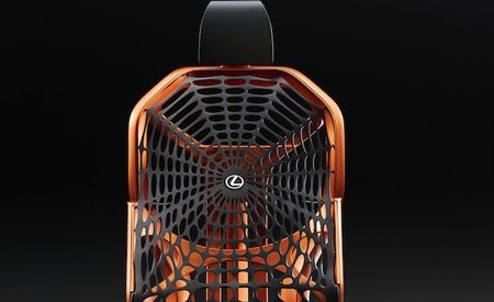 The Lexus Kinetic Seat Concept Will Save Humanity from Looking Like Graham