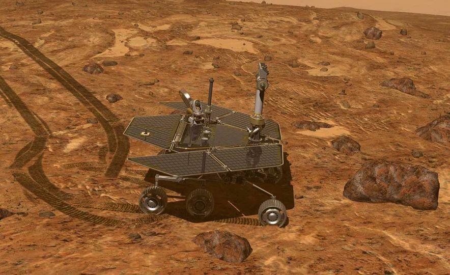 Mars Opportunity rover (artist's rendering) - Slide 5