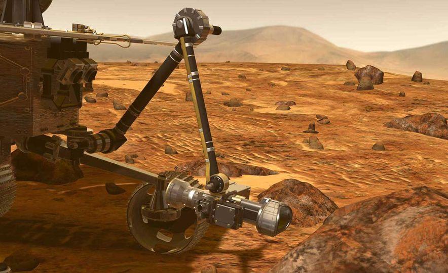Mars Opportunity rover (artist's rendering) - Slide 6