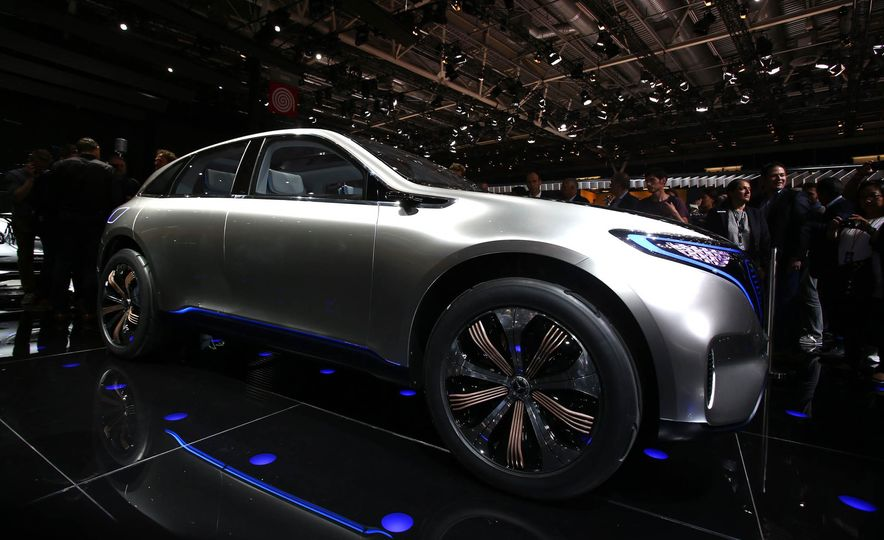 Mercedes-Benz Electric Drive concept - Slide 1