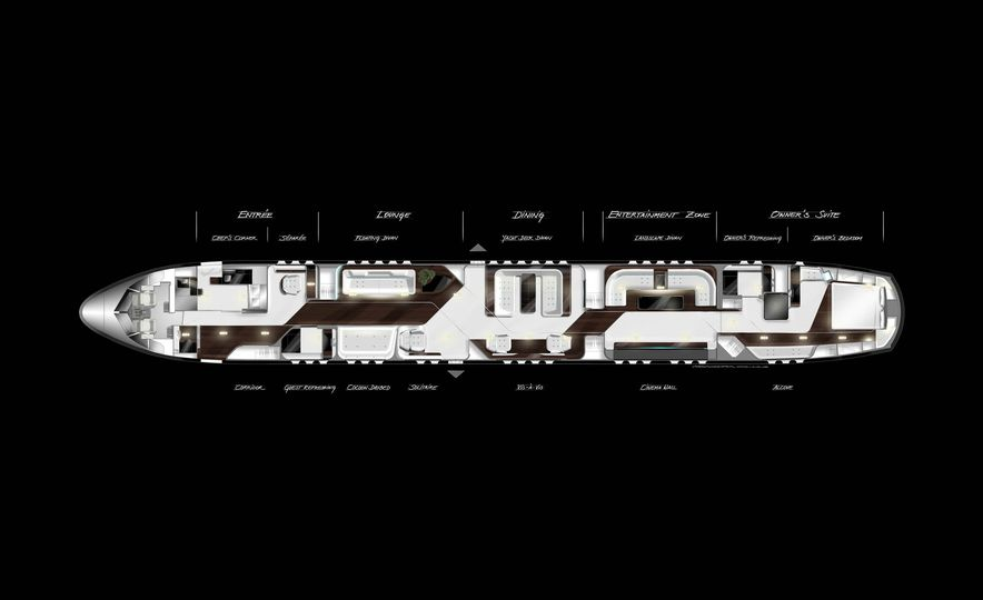 Mercedes-Benz Style Yacht - Slide 16