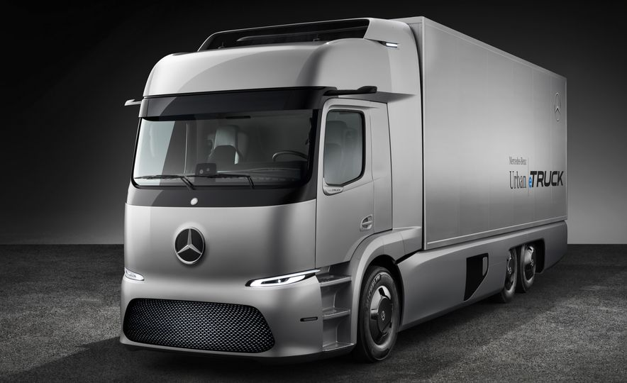 Mercedes-Benz Urban eTruck concept - Slide 13