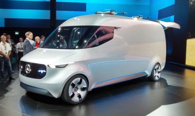 EV Drone Home: Mercedes Presents Vision Van Concept – News – Car and ...