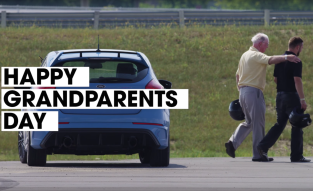 Ford's Latest Focus RS Stunt Proves Age Means Nothing, Or: Watch Grandparents Drift a Hot Hatch