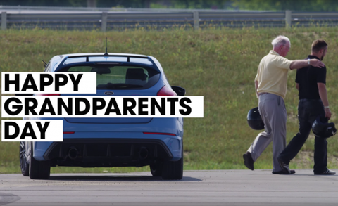 Watch Grandparents Drift The 2017 Ford Focus Rs News Car And Driver