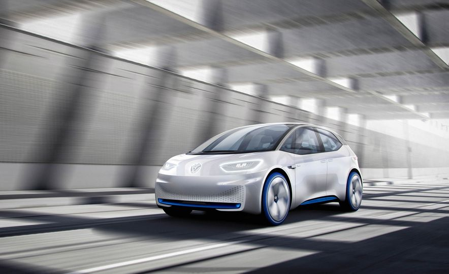 Volkswagen I.D. Electric Concept - Slide 10