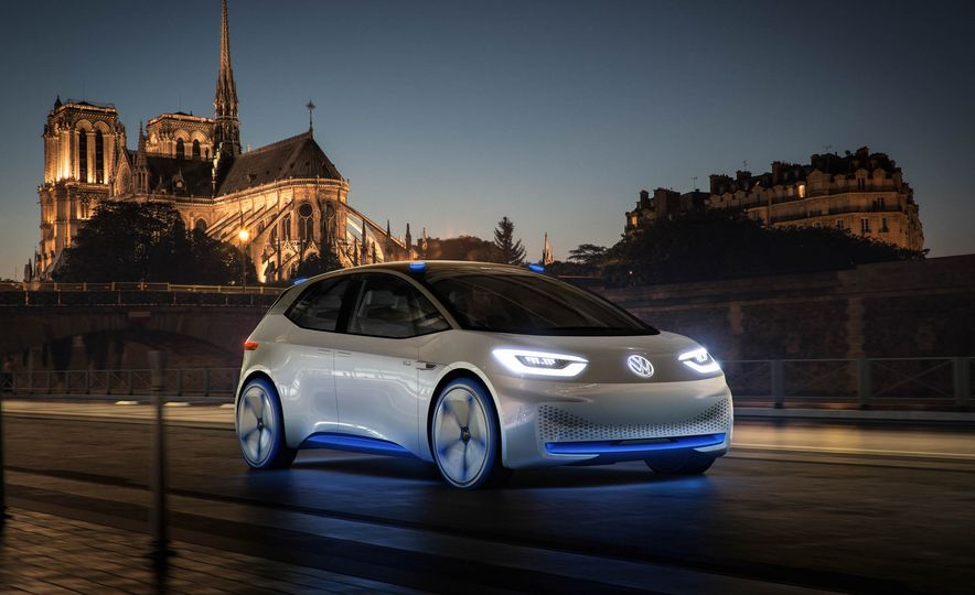 Volkswagen I.D. Electric Concept - Slide 11