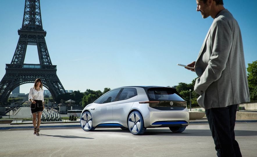 Volkswagen I.D. Electric Concept - Slide 25