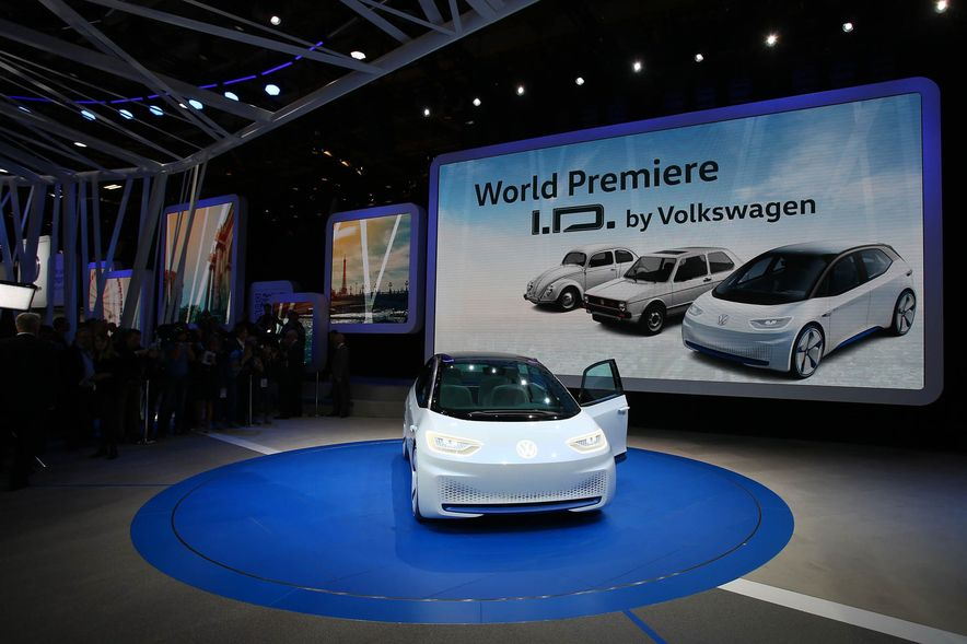 Volkswagen I.D. Electric Concept - Slide 1