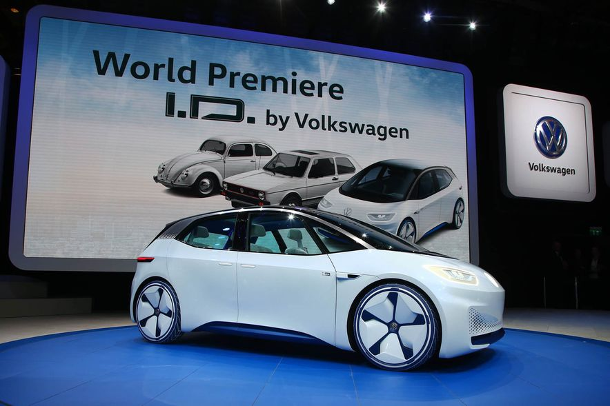 Volkswagen I.D. Electric Concept - Slide 8