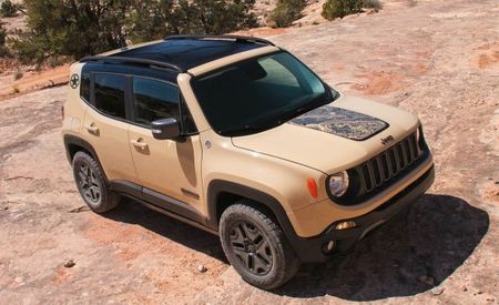 Hold Me Closer, Tiny Patton: Jeep Launches Renegade Desert Hawk in Europe