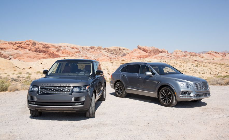 2016 Land Rover Range Rover SVAutobiography and 2017 Bentley Bentayga - Slide 6