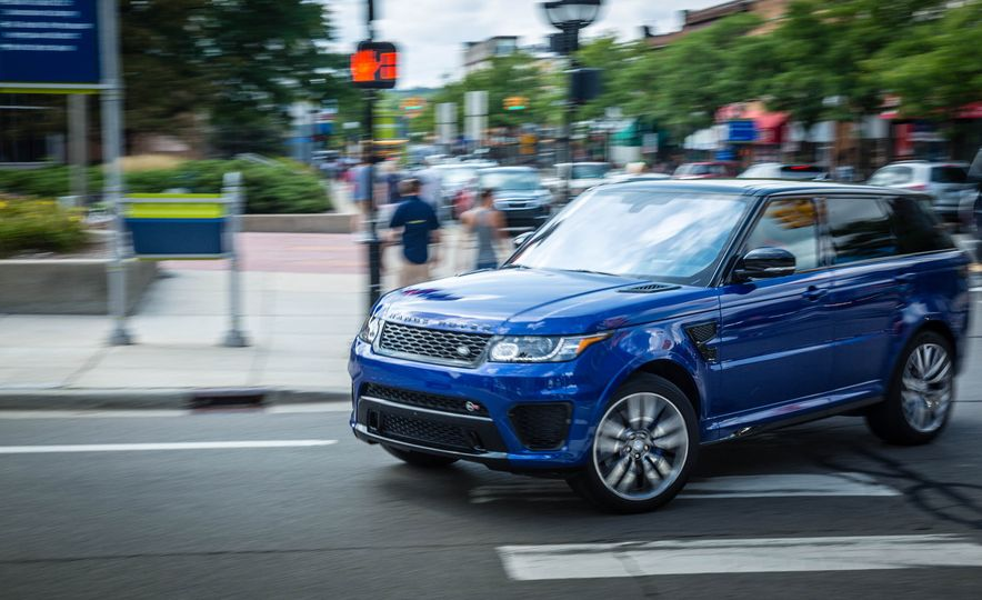 2016 Land Rover Range Rover Sport SVR - Slide 4