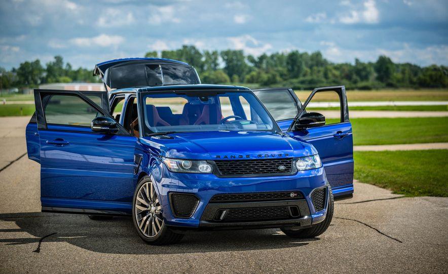 2016 Land Rover Range Rover Sport SVR - Slide 10