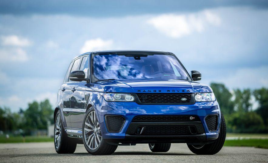 2016 Land Rover Range Rover Sport SVR - Slide 11