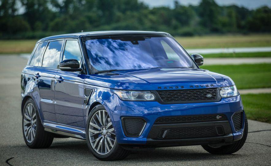 2016 Land Rover Range Rover Sport SVR - Slide 12