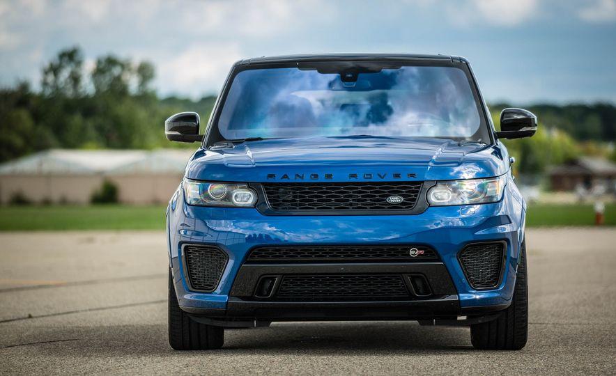 2016 Land Rover Range Rover Sport SVR - Slide 13