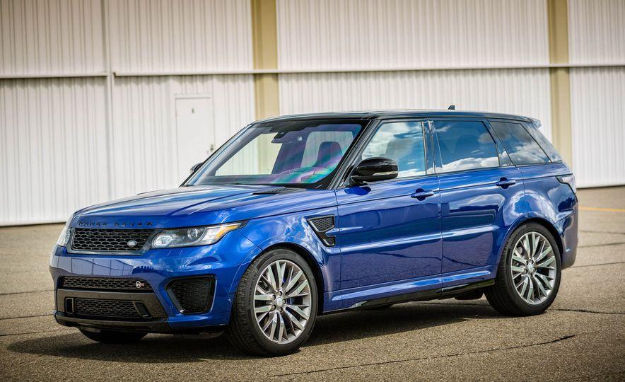 2016 Land Rover Range Rover Sport SVR - Slide 14