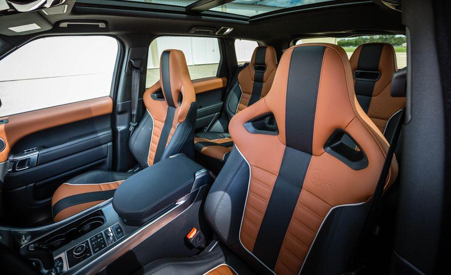 2016 Land Rover Range Rover Sport SVR - Slide 24