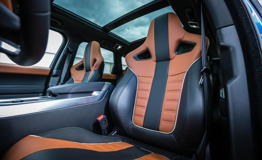 2016 Land Rover Range Rover Sport SVR - Slide 25