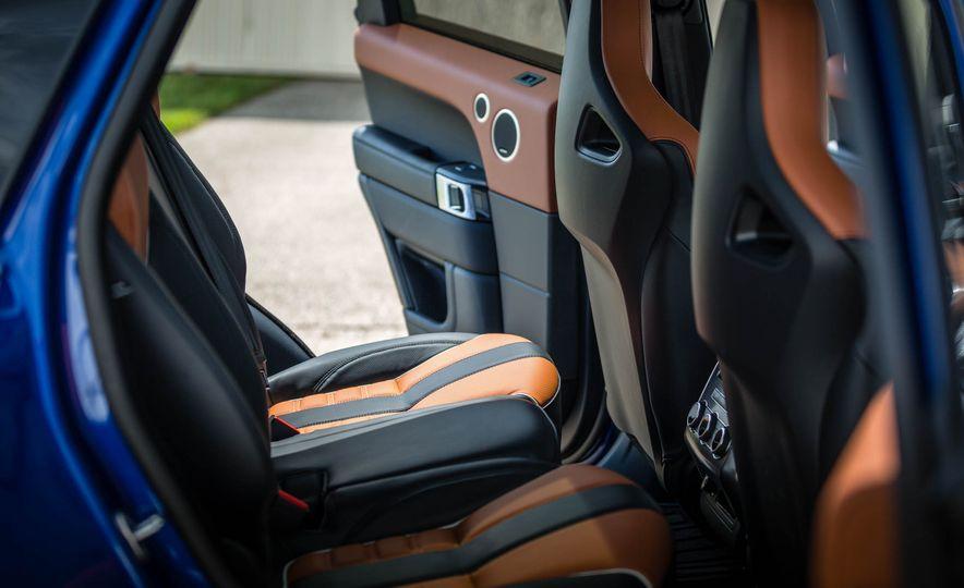 2016 Land Rover Range Rover Sport SVR - Slide 36