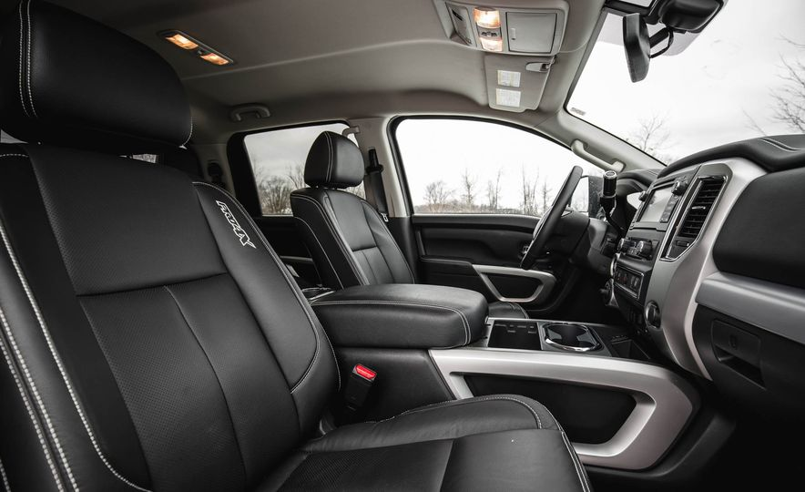 2016 Nissan Titan XD 4x4 diesel - Slide 78