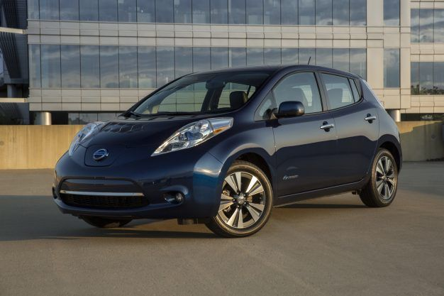 2019 Nissan Leaf Reviews Price Photos And Specs Car Driver