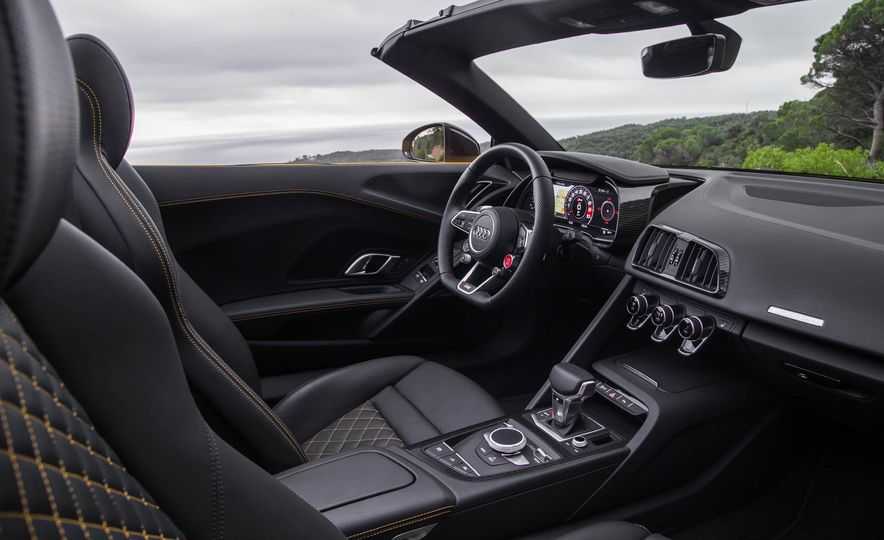 2017 Audi R8 Spyder (Euro-spec) - Slide 37