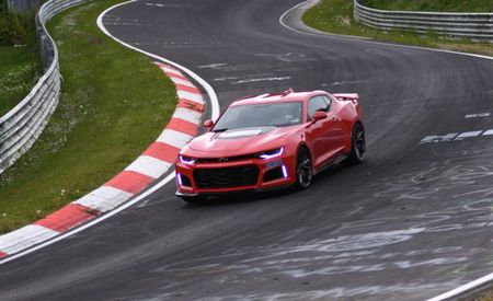 New Chevrolet Camaro ZL1 Crushes Previous Car's Nürburgring Lap Record [VIDEO]