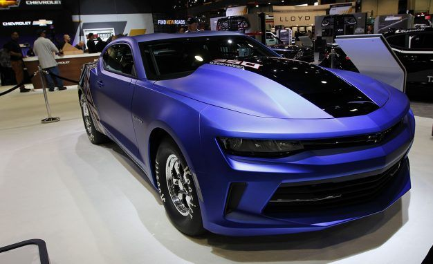 Tires Beware! 2017 Chevrolet COPO Camaro Debuts at SEMA