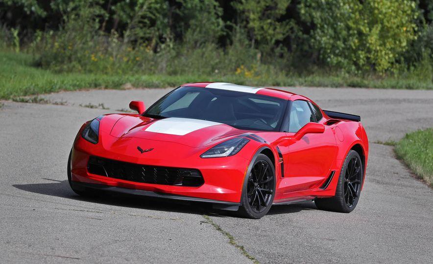 2017 Chevrolet Corvette Grand Sport - Slide 1