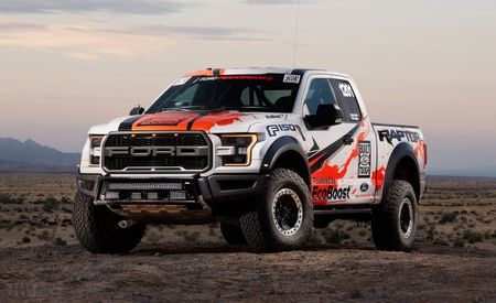 Ford Is Running a Basically Stock 2017 F-150 Raptor in the Baja 1000
