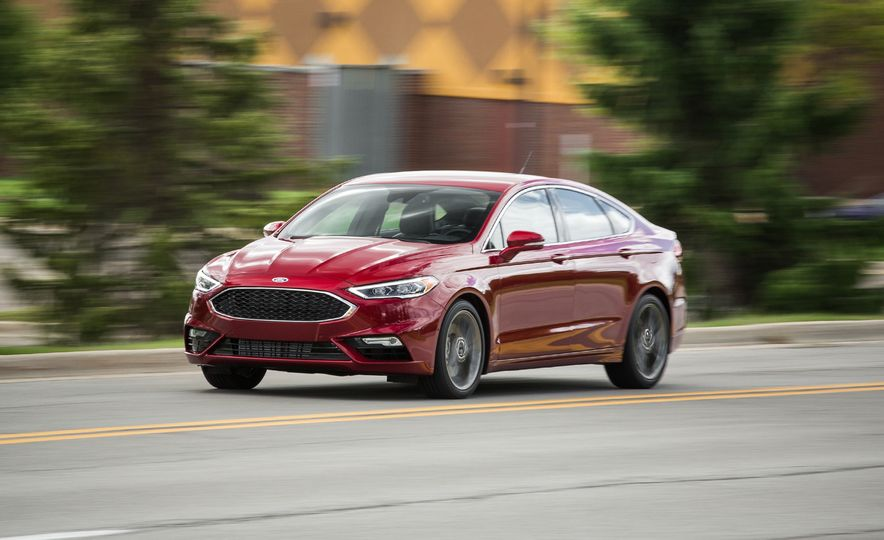 2017 Ford Fusion Sport - Slide 1