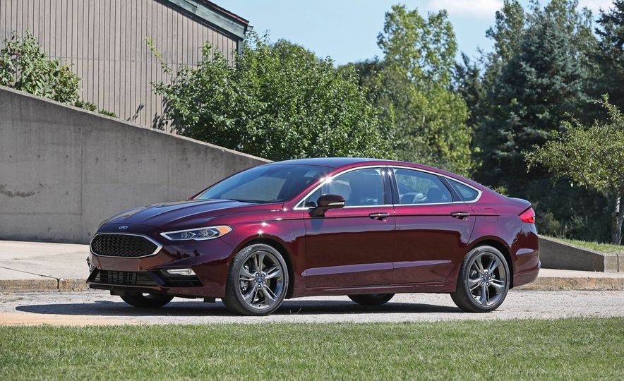 2017 Ford Fusion Sport - Slide 5