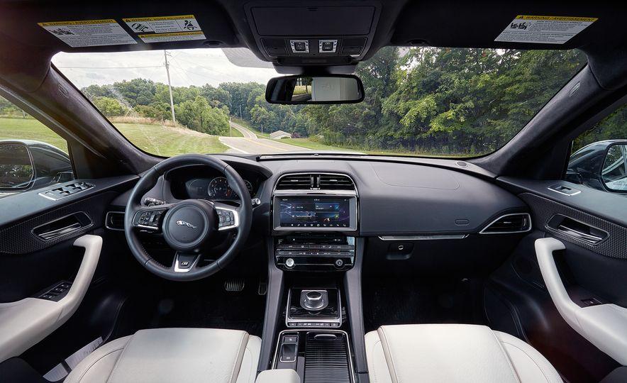 2017 Porsche Macan GTS and 2017 Jaguar F-Pace S First Edition - Slide 17