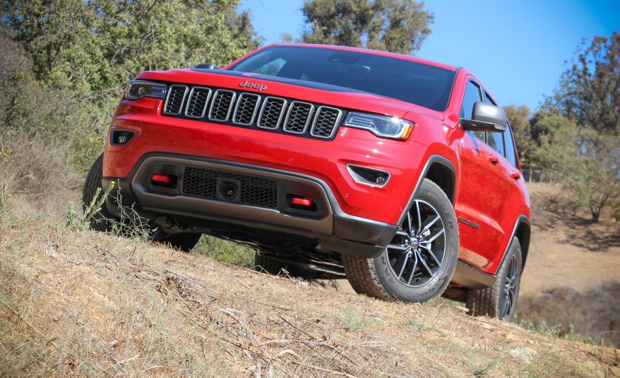 2017 Jeep Grand Cherokee Trailhawk - Slide 15