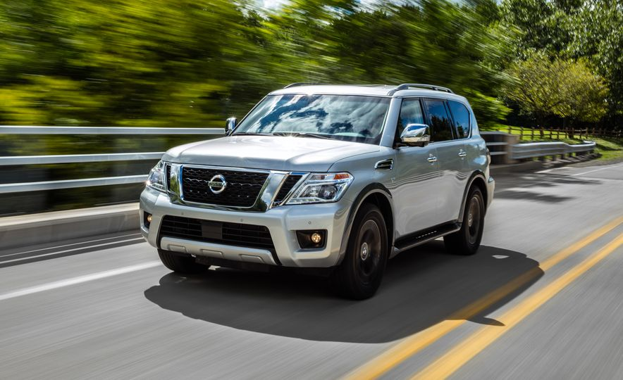2017 Nissan Armada Platinum - Slide 2