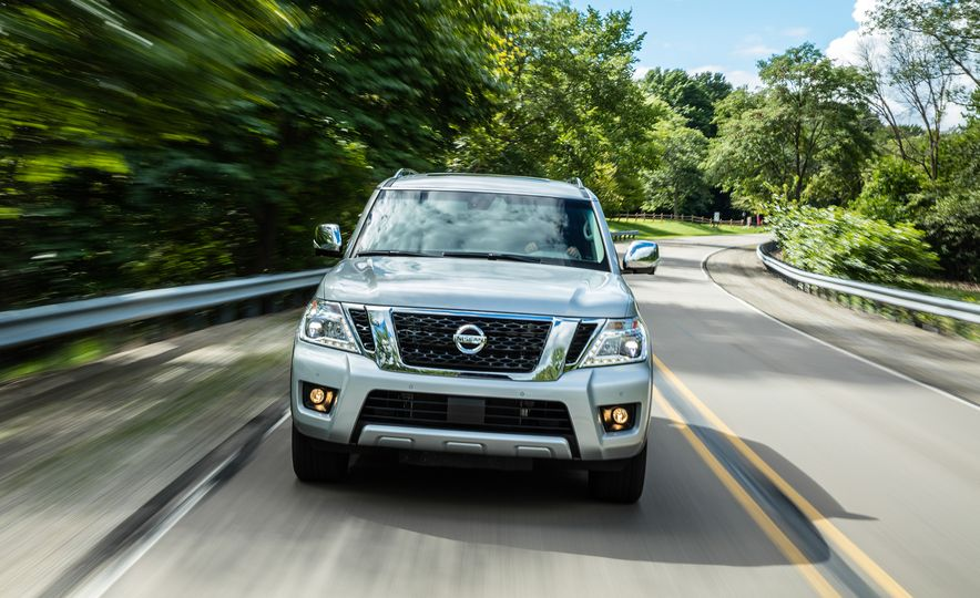 2017 Nissan Armada Platinum - Slide 3