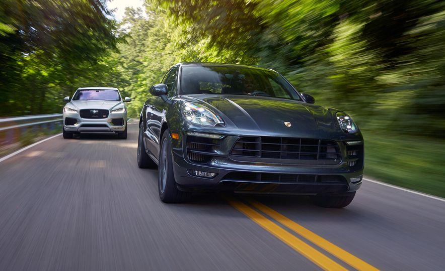 2017 Porsche Macan GTS and 2017 Jaguar F-Pace S First Edition - Slide 24