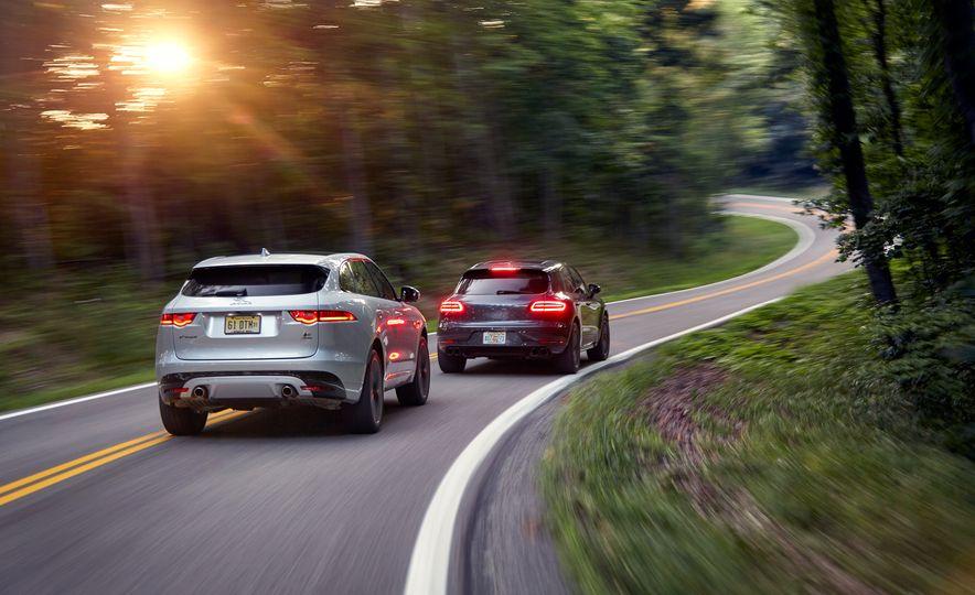 2017 Porsche Macan GTS and 2017 Jaguar F-Pace S First Edition - Slide 2