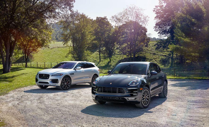 2017 Porsche Macan GTS and 2017 Jaguar F-Pace S First Edition - Slide 6